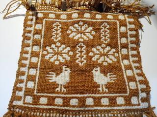 スピパで買ったヤノフ村の二重織り