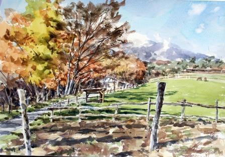 牧場の秋 アフター