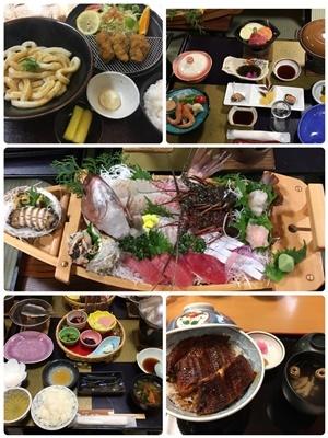 旅行の食事