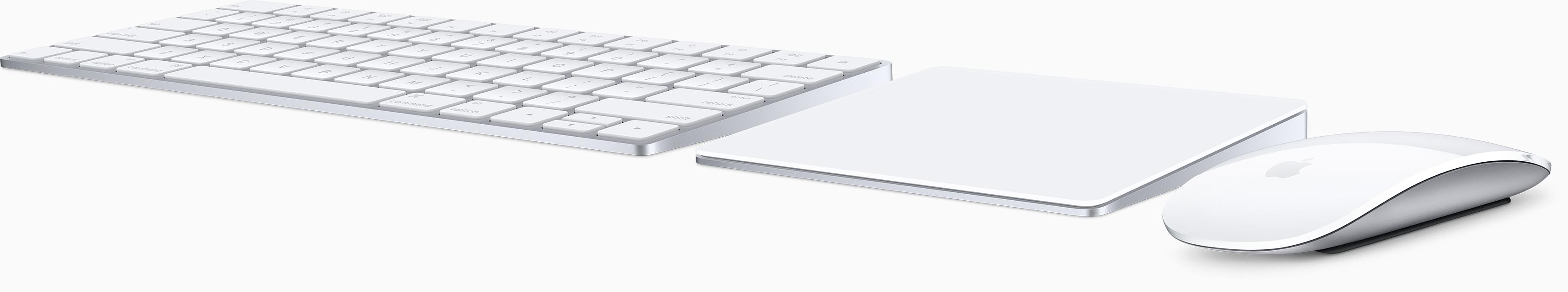 Magic Keyboard, Magic Mouse2, Magic Truckpad2を触ってきたよ