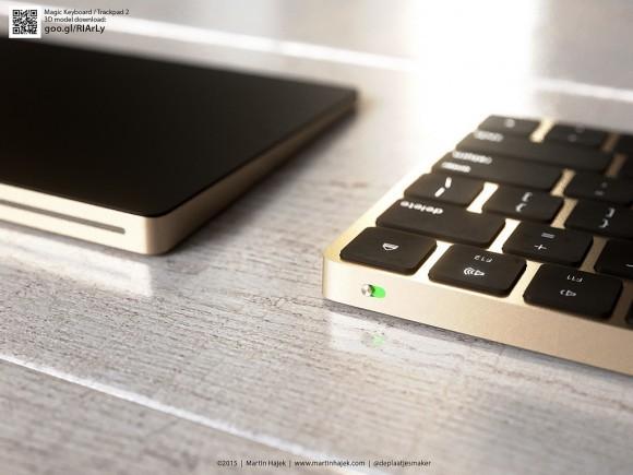 いいじゃん!! もし Magic Keyboard と Magic Truckpad 2 がゴールドだったら