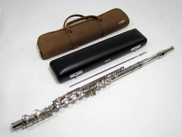 ヤマハ YFL411 銀管 フルート 管楽器
