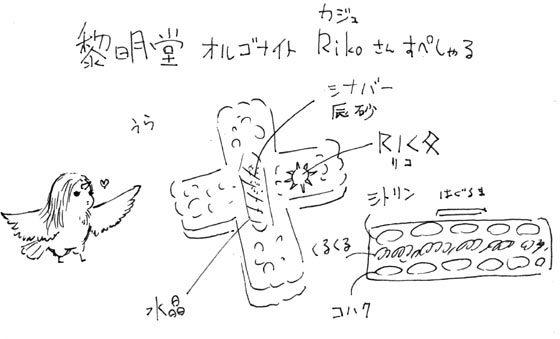 キヨさん手書きの説明書