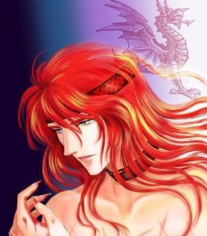 竜は赤い髪なの