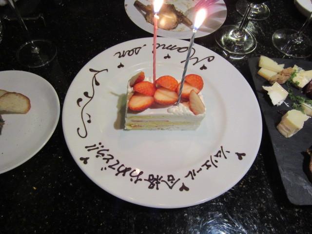 合格祝いのデザート