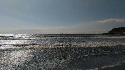 由比ヶ浜全景②