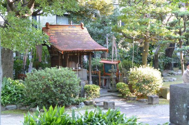 旧安田庭園④