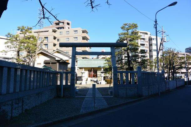西葛西八幡神社②