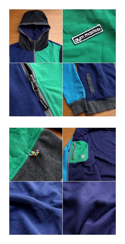 2016-11-12 タスロン×スウェットリバーシブルフードジャケット gym master ジムマスター 5-vert