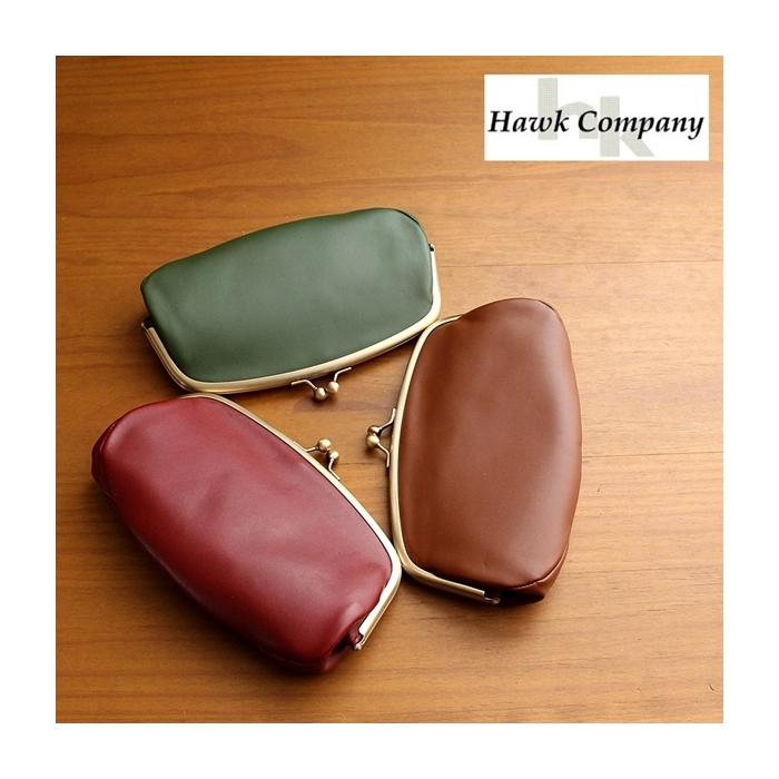 2017-01-07 ガマグチデザイン ラウンドロングレザーウォレット ホークカンパニー Hawk Company 1