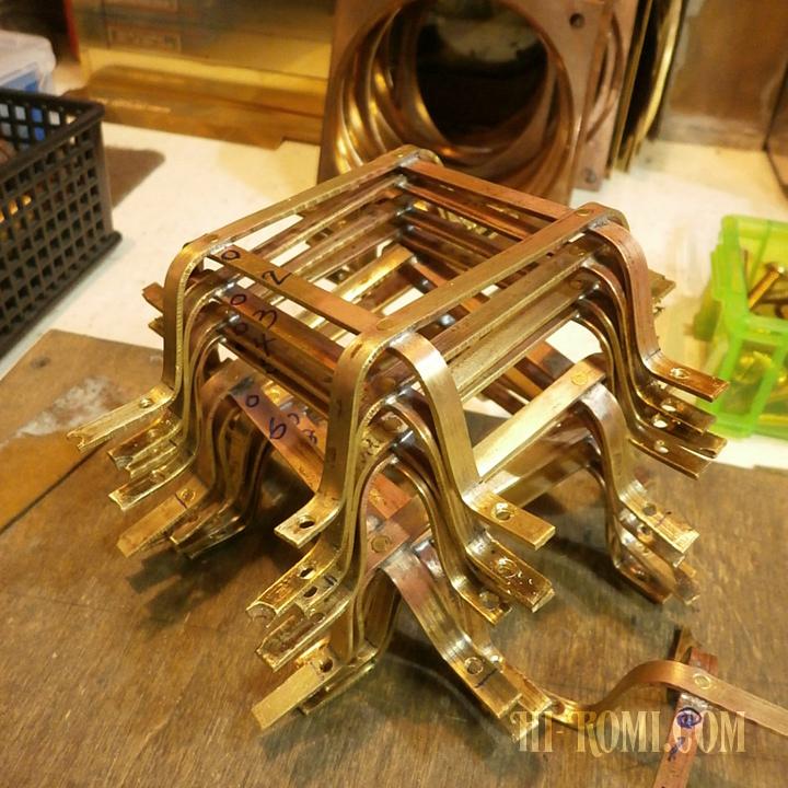 銅 真鍮 カスタム 照明 スチームパンク インダストリアル 工業系 旋盤 工場 製造 アンティーク ヴィンテージ レトロ industrial steam punk lamp light