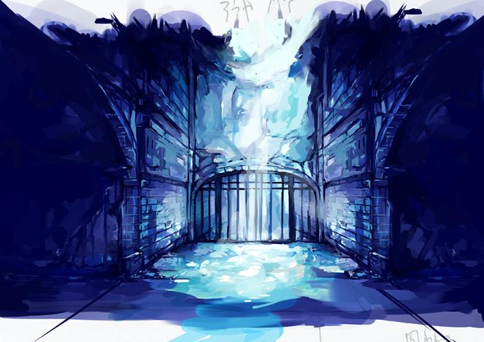 背景 牢屋