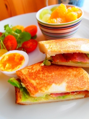 avocado hot sandwich