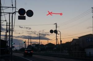 日の出前の出勤1