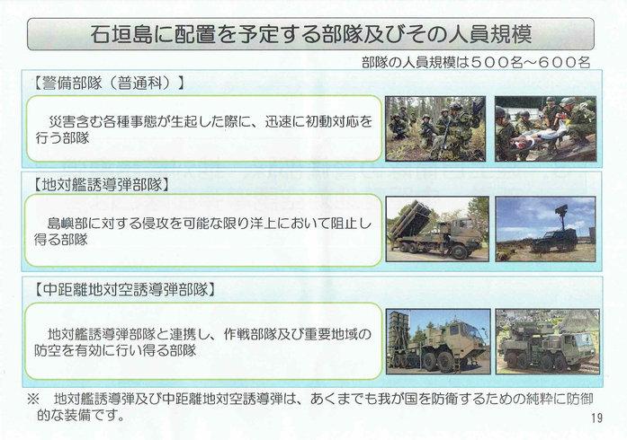 石垣島への自衛隊部隊の配置20[1]