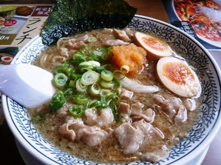 丸源ラーメン:肉そば1