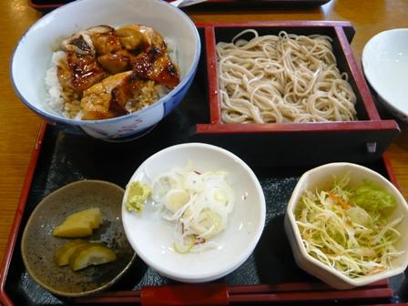 蓬莱亭:江戸前丼セット