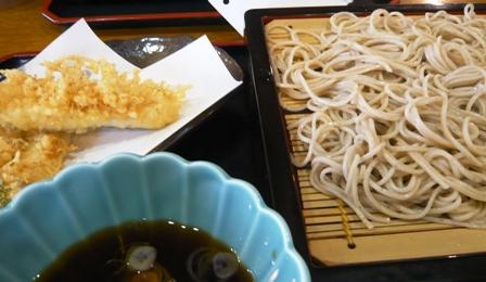蓬莱亭:地魚天ぷらそば
