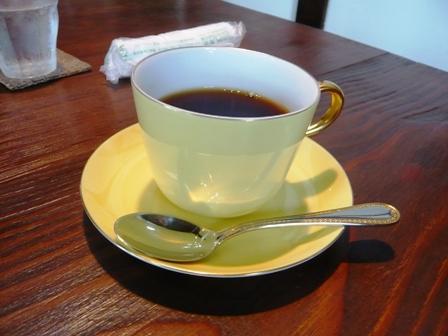 CAFE中川:ホット珈琲