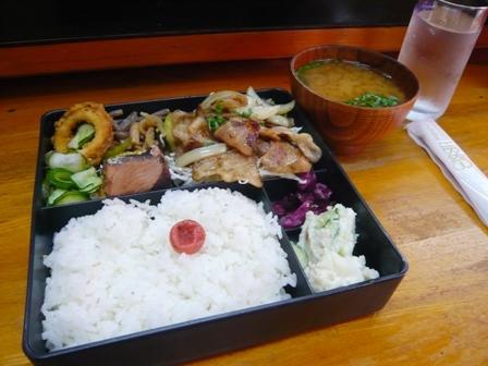 金多楼:焼き肉定食1