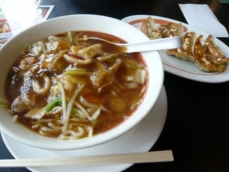 幸楽苑:五目野菜ラーメン餃子セット