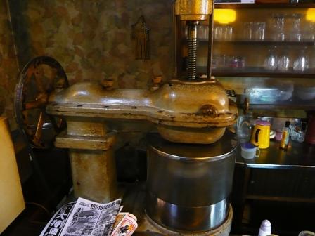 富士:自家製かき氷機