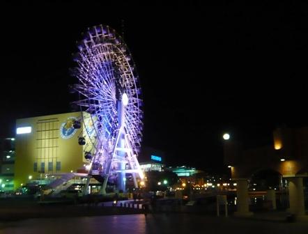 ドリプラ観覧車:夜景3