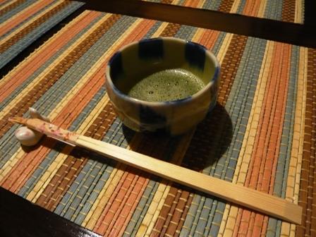 お寺:コース;抹茶