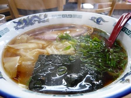 丸岩ラーメン:ワンタン麺