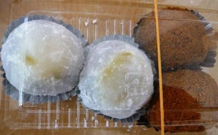 増田屋支店:栗饅頭、わらび餅