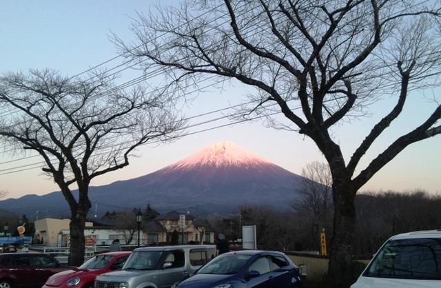 馬飼野牧場:富士山4