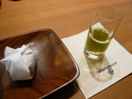マルモ森商店:煎茶エスプレッソ1