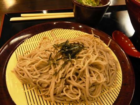 二升五合:ざる蕎麦1