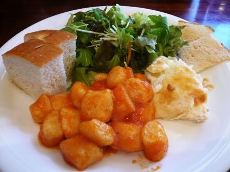 西洋食堂PaPa:ニョッキのプレートランチ1
