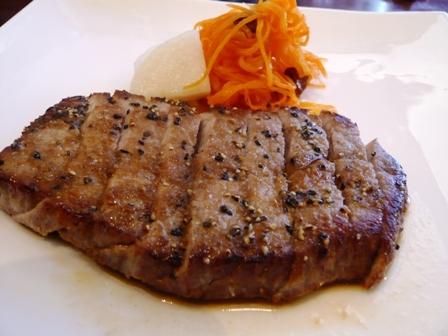 西洋食堂PaPa:牛肉のステーキランチ1