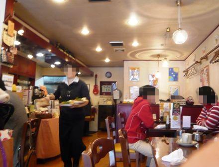西洋食堂PaPa:店内1