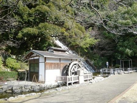 清水山公園:滝1