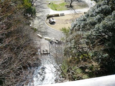 清水山公園:滝上