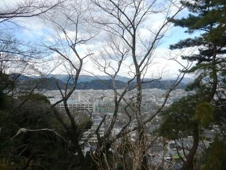 清水山公園:展望台