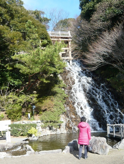 清水山公園:滝2