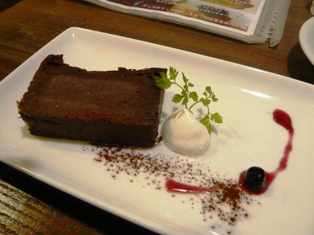 スペシャリティーコーヒー:ケーキセット;チョコホリック