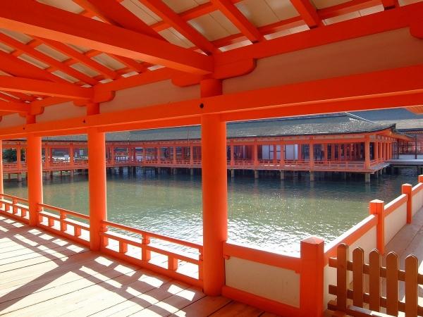 厳島神社6〔フリー写真〕