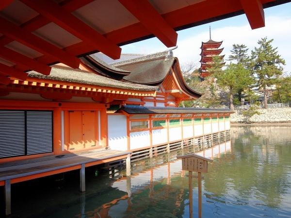 厳島神社7〔フリー写真〕