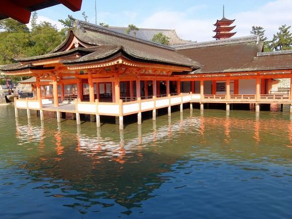 厳島神社9〔フリー写真〕