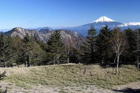 大谷崩と富士