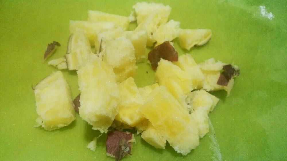 サツマイモとリンコ?のリソ?ットの作り方3