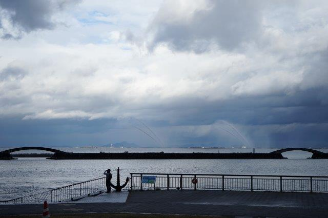 滋賀県大津市浜大津 大津港風景