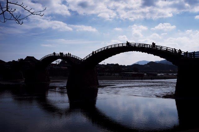 岩国市 錦帯橋の景観