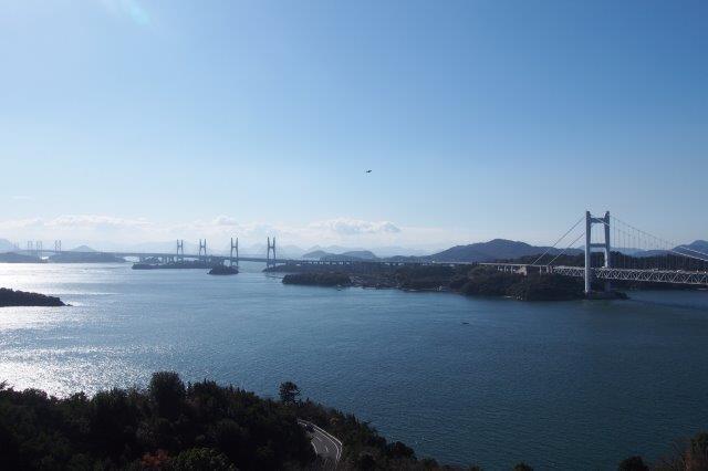 鷲羽山展望台の眺望