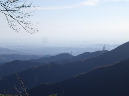 御岳山3天気が良ければスカイツリーが見える